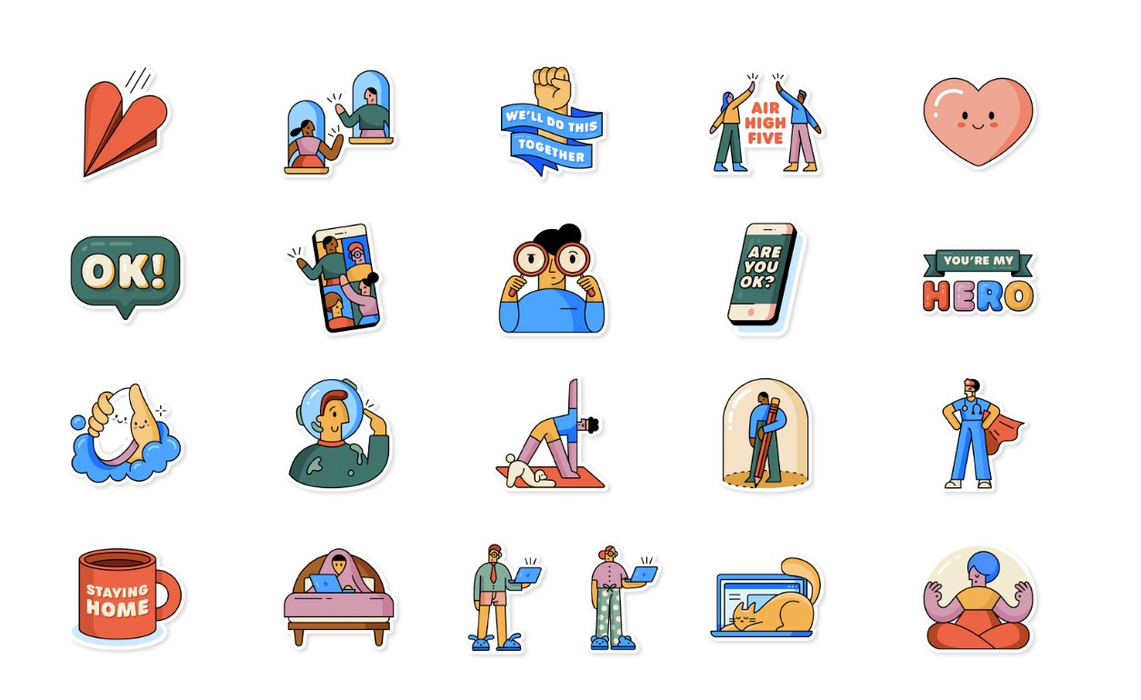 whatsapp stickers emojis